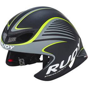 Rudy Project Wing57 Helmet Black-Yellow Fluo Matte